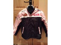 Young girl's motorbike jacket (suit age 10-12)