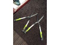 Two pairs of Garden shears