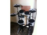 TD-4KP electric drum kit with portable carrying case