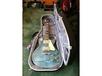 Gibson Les Paul Traditional 2014 Ocean Blue For Sale