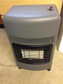 Calor gas heater cabinet, no cylinder. Grey and black. Good condition.
