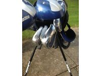 Golf clubs for 12+ cost £130 new