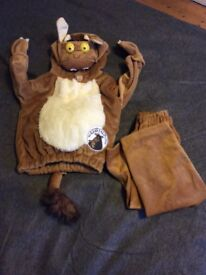 Gruffalos Child Costume BNWT size 1-3 years but would fit most 4 year olds