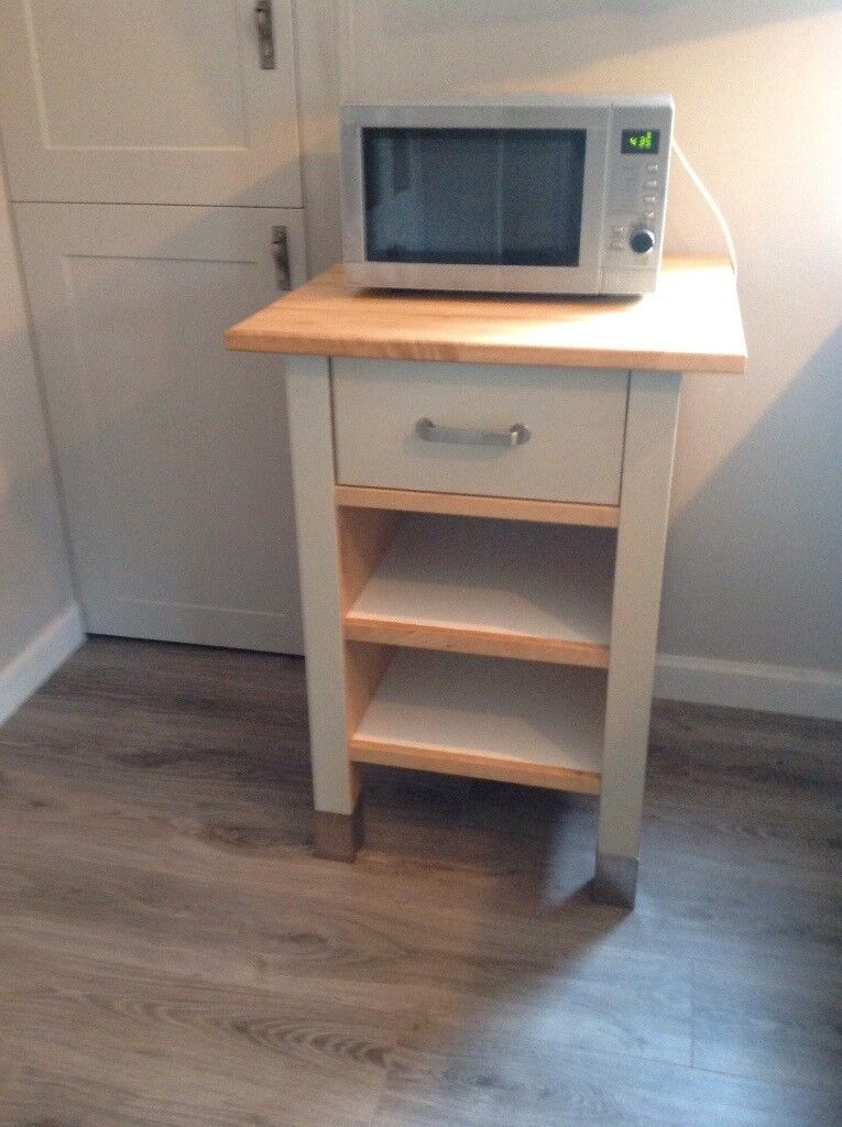 Solid butchers trolley