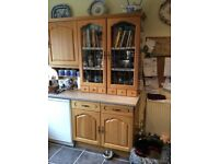 Kitchen Dresser Oak Cabinet