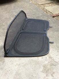 Wind deflector for Volvo C70 (post 2006 model). And rear seat cover for same