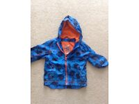2x boys rain jackets