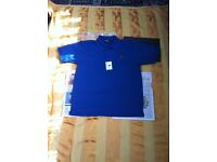 new with tags ralph lauren t shirt large blue