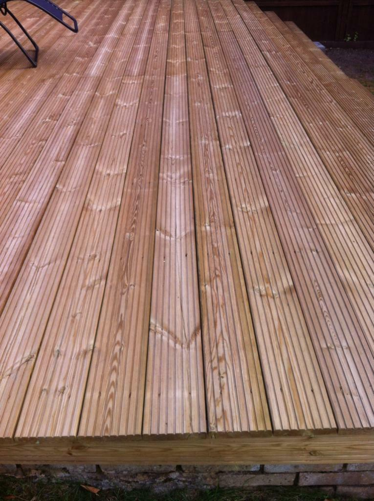 Double sided decking brand new left over from project for Decking boards 3 6 metres