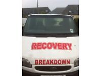 1993 FORD TRANSIT SMILEY BEAVERTAIL RECOVERY TRUCK SPARES OR REPAIR