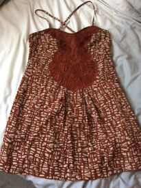 Next brown dress size 12