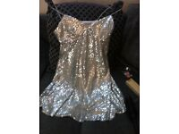 Designer dress with tags 8 12 and 14