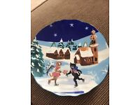 Anthropologie Cat Plate