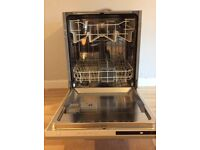 Curry's Essentials Integrated dishwasher, approx 1 year old, rarely used, excellent condition.