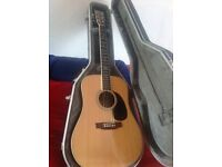 Tokai acoustic guitar