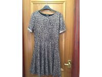 Leopard Print Camel Coloured Dress, never worn with label attached! Size 12 - condition as new!