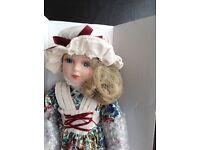 The Leonardo collection porcelain doll
