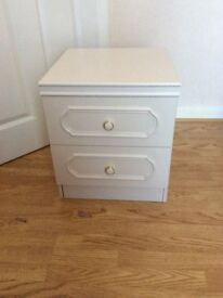 Pair of bedside drawer units