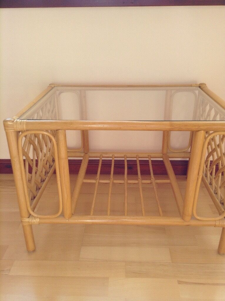 Cane coffee tablein Inverurie, AberdeenshireGumtree - Cane coffee table excellent condition. Ideal for conservatory or sun room. None smoking house