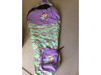Sleeping Bag - girls 'Rose' sleeping bag suit 8-10yrs