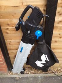 Mac Allister Corded 240V Garden blow vac