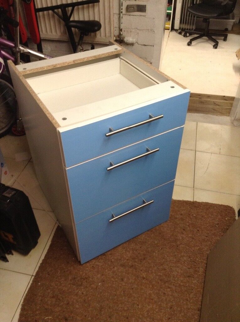 3e891b0994b7 Wickes 3 draw kitchen 500 unit with white gloss doors | in Sheffield ...