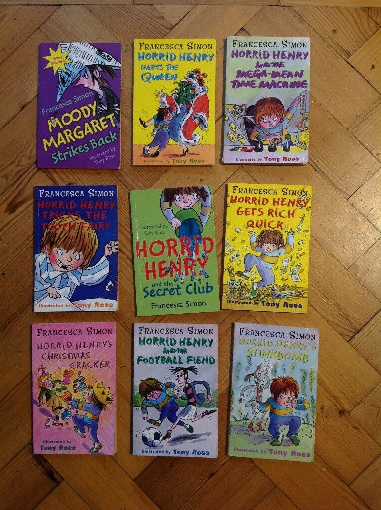 Children's horrid Henry books