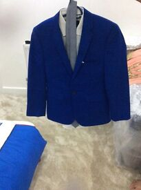 Boys suit from burtons size 13.5-14 slim fit