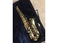 Alto Saxophone for sale - almost new!