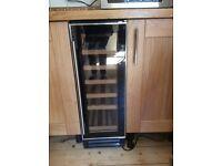 Wine cooler 30 cm wide