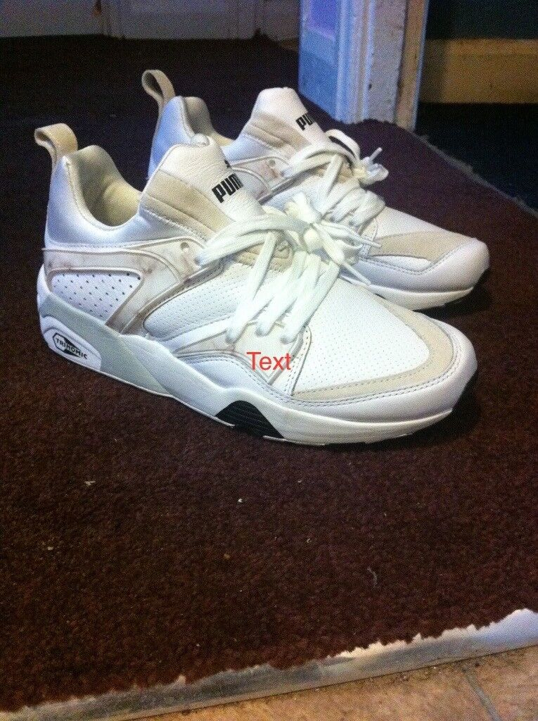 f53350a4bdfaf5 MENS WOMENS PUMA TRINOMIC PLUS trainers marshmallow colour BRAND NEW BOXED  UK size 7 but more like 6