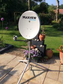 Maxview Precision 55cm Satellite System