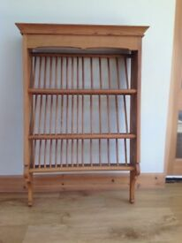Bespoke, handmade plate rack by Charles Taylor