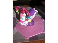 Reduced**fisher price bounce and spin zebra**
