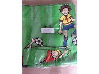 Football Curtains & Bedding