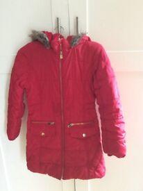 Girls coat age 9-10 years