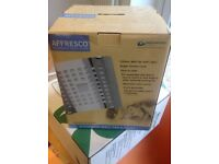 Greenwood Airvac Affresco Cubic Extractor Fan with Timer & Light
