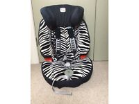 Kids Car Seat - Evolva 123 Plus for ages 9mths to 12 years mint condition