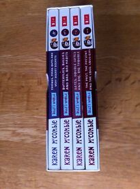 Box set of 4 Ally's World books by Karen McCombie
