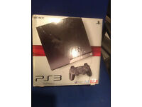Sony PlayStation 3 Slim 250 GB Charcoal Black Console Bundle/Job Lot Games etc