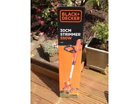 Black and Decker electric 550w Strimmer