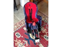 Hamax Kiss child's bike seat excellent condition
