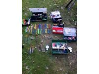 Fishing tackle big job lot