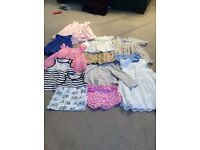 Bundle of 10 items of girls clothing