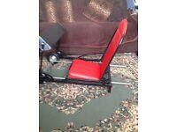 Game car seat