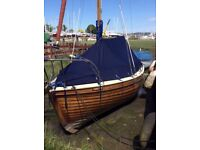 Lovely classic wooden boat