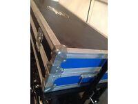 Citronic Technics quality flight case DJ flight coffin case decks