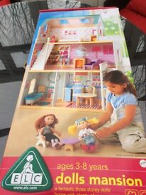 Brand new ELC dolls house and furniture