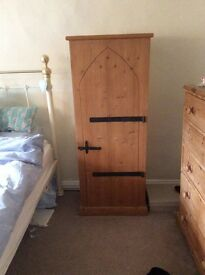 Free standing pine cupboard