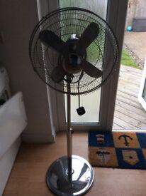 FAN ELECTRIC Pedestal free standing contemporary fan
